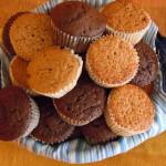 Muffins de lima-limón y al whisky