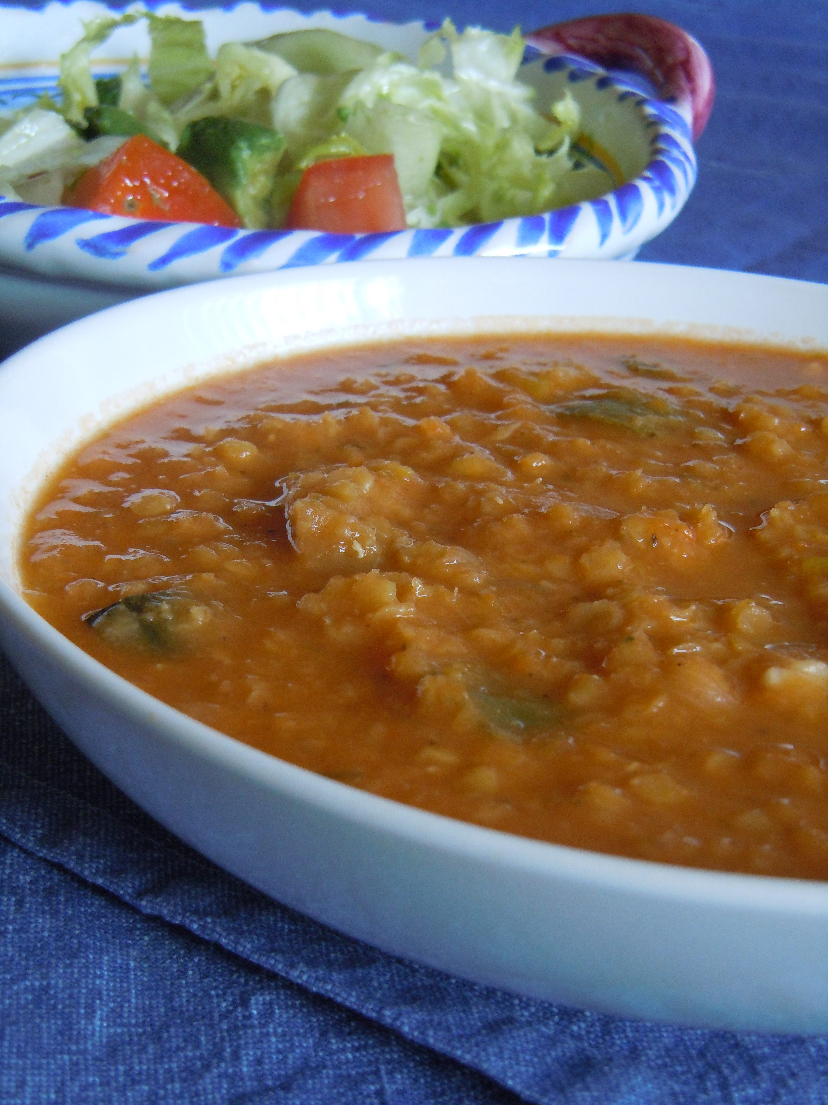 Lentejas Rojas Con 8 Vegetales Harina La Carmita