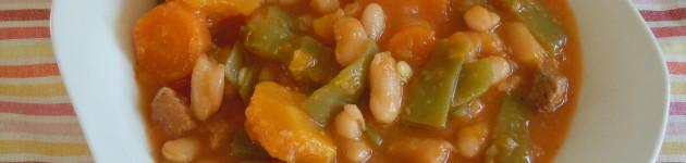 Potaje de alubias rojas harina la carmita - Alubias rojas con costilla ...