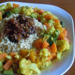 Cous-cous vegetal con verduras de temporada