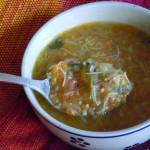 Sopa de hortalizas de las casbah