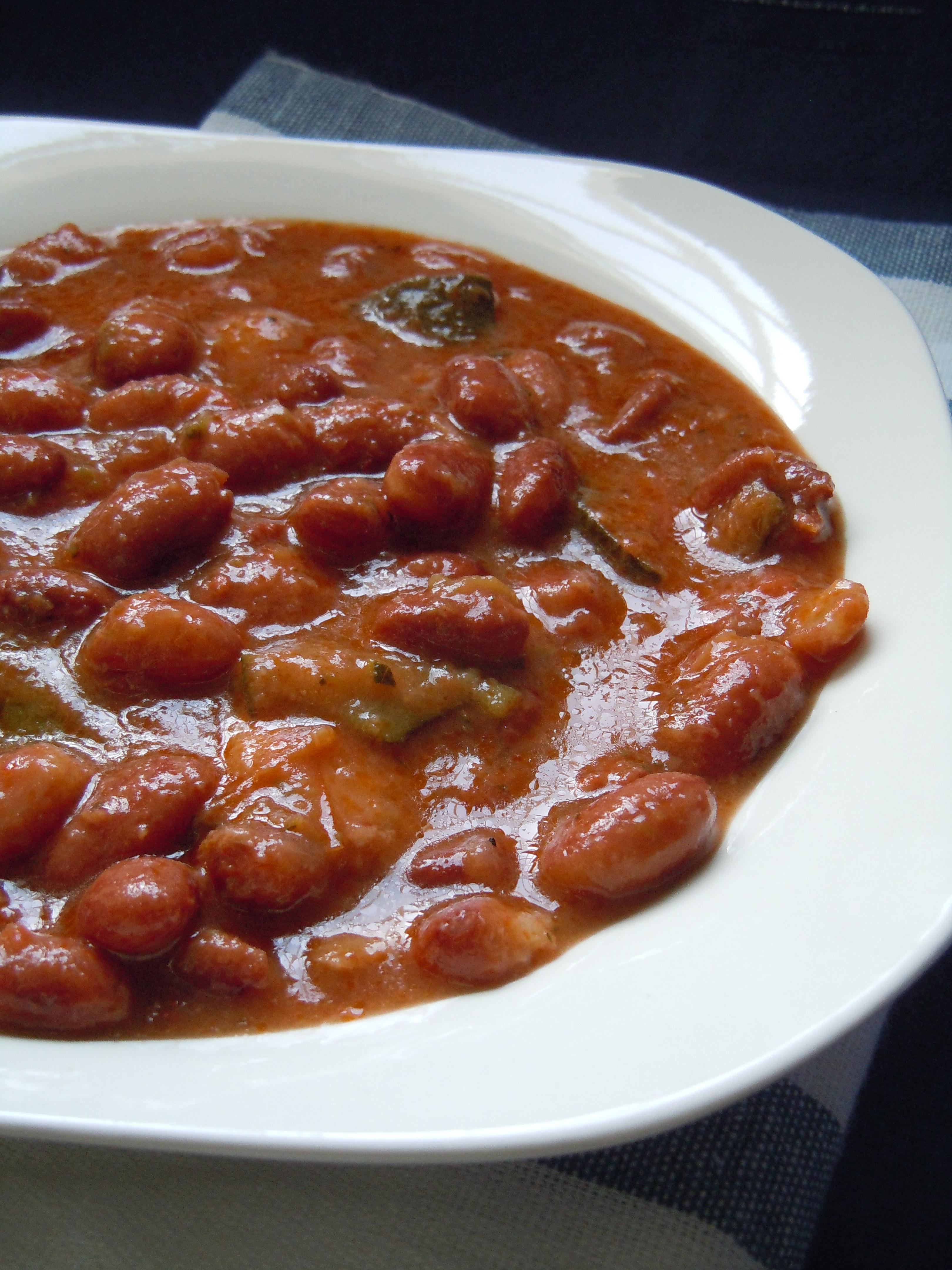 15 bonito cocinar alubias rojas im genes potaje de - Judias pintas con arroz olla express ...